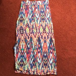 Multi-Colored Skirt